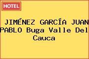 JIMÉNEZ GARCÍA JUAN PABLO Buga Valle Del Cauca