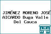 JIMÉNEZ MORENO JOSÉ AICARDO Buga Valle Del Cauca