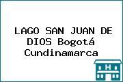 LAGO SAN JUAN DE DIOS Bogotá Cundinamarca