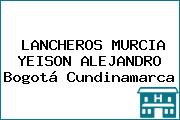 LANCHEROS MURCIA YEISON ALEJANDRO Bogotá Cundinamarca