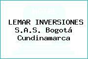 LEMAR INVERSIONES S.A.S. Bogotá Cundinamarca