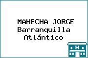 MAHECHA JORGE Barranquilla Atlántico