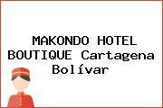 MAKONDO HOTEL BOUTIQUE Cartagena Bolívar
