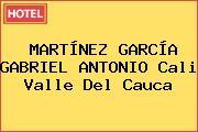 MARTÍNEZ GARCÍA GABRIEL ANTONIO Cali Valle Del Cauca