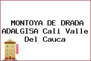 MONTOYA DE DRADA ADALGISA Cali Valle Del Cauca