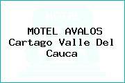 MOTEL AVALOS Cartago Valle Del Cauca