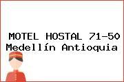 MOTEL HOSTAL 71-50 Medellín Antioquia