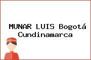 MUNAR LUIS Bogotá Cundinamarca