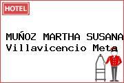 MUÑOZ MARTHA SUSANA Villavicencio Meta