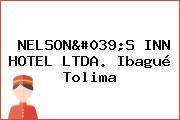 NELSON'S INN HOTEL LTDA. Ibagué Tolima