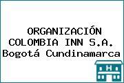 ORGANIZACIÓN COLOMBIA INN S.A. Bogotá Cundinamarca