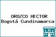 OROZCO HECTOR Bogotá Cundinamarca