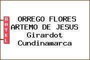ORREGO FLORES ARTEMO DE JESUS Girardot Cundinamarca