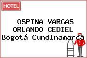 OSPINA VARGAS ORLANDO CEDIEL Bogotá Cundinamarca