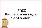 PÁEZ Barrancabermeja Santander