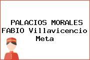 PALACIOS MORALES FABIO Villavicencio Meta