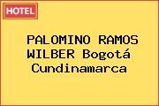 PALOMINO RAMOS WILBER Bogotá Cundinamarca