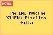PATIÑO MARTHA XIMENA Pitalito Huila