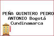 PEÑA QUINTERO PEDRO ANTONIO Bogotá Cundinamarca