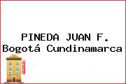 PINEDA JUAN F. Bogotá Cundinamarca