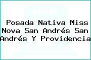 Posada Nativa Miss Nova San Andrés San Andrés Y Providencia
