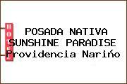 POSADA NATIVA SUNSHINE PARADISE Providencia Nariño