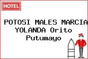 POTOSI MALES MARCIA YOLANDA Orito Putumayo