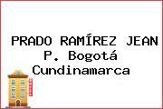 PRADO RAMÍREZ JEAN P. Bogotá Cundinamarca