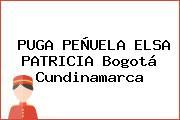 PUGA PEÑUELA ELSA PATRICIA Bogotá Cundinamarca