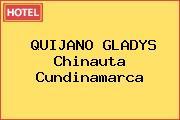QUIJANO GLADYS Chinauta Cundinamarca