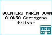 QUINTERO MARÍN JUAN ALONSO Cartagena Bolívar