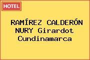 RAMÍREZ CALDERÓN NURY Girardot Cundinamarca