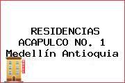 RESIDENCIAS ACAPULCO NO. 1 Medellín Antioquia