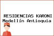 RESIDENCIAS KARONI Medellín Antioquia