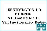 RESIDENCIAS LA MIRANDA VILLAVICENCIO Villavicencio Meta
