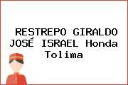 RESTREPO GIRALDO JOSÉ ISRAEL Honda Tolima