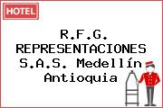 R.F.G. REPRESENTACIONES S.A.S. Medellín Antioquia