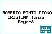ROBERTO PINTO DIANA CRISTINA Tunja Boyacá