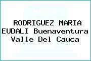 RODRIGUEZ MARIA EUDALI Buenaventura Valle Del Cauca