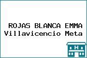 ROJAS BLANCA EMMA Villavicencio Meta
