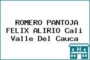 ROMERO PANTOJA FELIX ALIRIO Cali Valle Del Cauca
