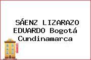 SÁENZ LIZARAZO EDUARDO Bogotá Cundinamarca