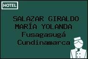 SALAZAR GIRALDO MARÍA YOLANDA Fusagasugá Cundinamarca