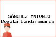 SÁNCHEZ ANTONIO Bogotá Cundinamarca