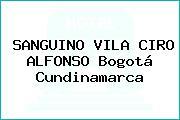 SANGUINO VILA CIRO ALFONSO Bogotá Cundinamarca