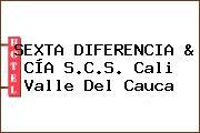 SEXTA DIFERENCIA & CÍA S.C.S. Cali Valle Del Cauca