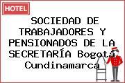 SOCIEDAD DE TRABAJADORES Y PENSIONADOS DE LA SECRETARÍA Bogotá Cundinamarca