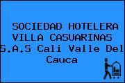SOCIEDAD HOTELERA VILLA CASUARINAS S.A.S Cali Valle Del Cauca