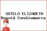 SOTELO ELIZABETH Bogotá Cundinamarca