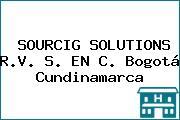 SOURCIG SOLUTIONS R.V. S. EN C. Bogotá Cundinamarca